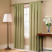 Blackstone Blackout Rod Pocket Curtains - Available in 6 colors