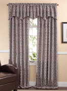 Bryce Chenille Rod Pocket Curtains - Available in Pewter, Sand, Rust, Seabreeze