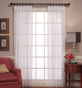 Emelia Pinch Pleated Drapes - Available in White or Ecru