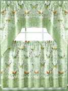 Butterfly Bliss kitchen curtain