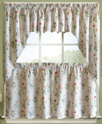English Garden Kitchen Curtain