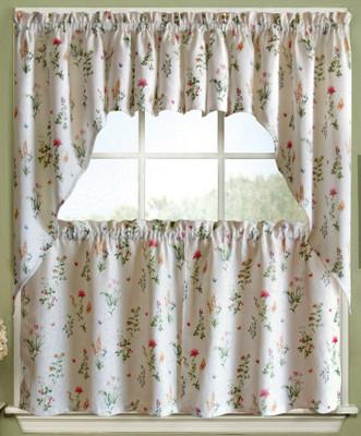 English Garden Kitchen Curtain