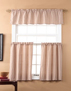 Fleetwood Kitchen Curtain - Berry