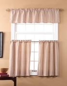 Fleetwood Kitchen Curtain - Berry