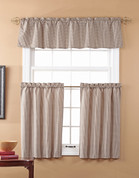 Fleetwood Kitchen Curtain - Black