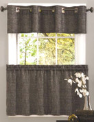 Hudson Kitchen Curtain - Available in Onyx, Sage, Linen