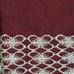 Salem Kitchen Curtain Burgundy