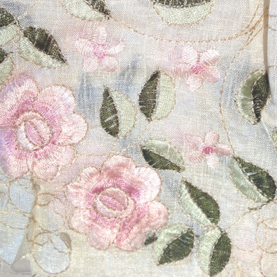 Rosemary Kitchen Curtain - Rose