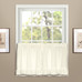 Vienna Eyelet Kitchen Curtain tier - Natural