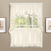 Vienna Eyelet Kitchen Curtain - Natural