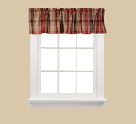 Cooper  Valance - Red