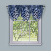 Ombre Waterfall Valance - Blue