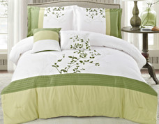 Verde King Comforter Bedding Set