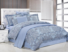Paisley Queen Comforter Bedding Set