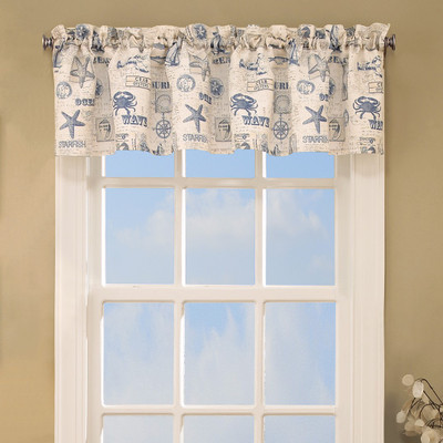 By The Sea Valance from Lorraine Home