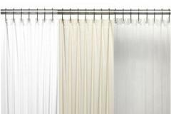 Bulk Case Pack (24 pcs) Vinyl Shower Curtain Liner 8 gauge - Standard Size