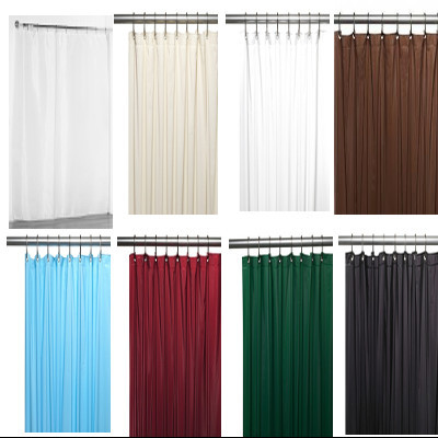 Bulk Case Pack 24 Pcs Fabric Shower Curtain Liner
