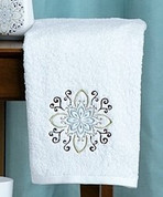 Medallion - Embroidered Hand Towel