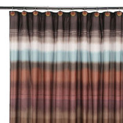 Jessen Stripe - Fabric Shower Curtain