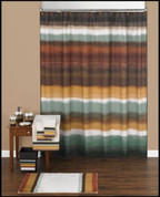 Jessen Stripe Shower Curtain & Bathroom Accessories