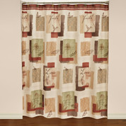 Inspire Fabric Shower Curtain from Saturday Knight Ltd