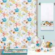 Rainbow Fish Shower Curtain & Bathroom Accessories