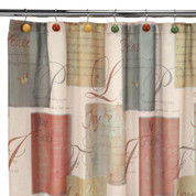 Tranquility Fabric Shower Curtain