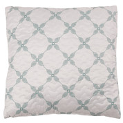 Trina Quilted Reversible Throw Pillow - Cafe