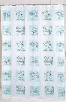 Bathtime - Fabric Shower Curtain