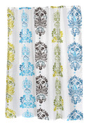 Olivia - Fabric Shower Curtain