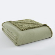 Sherpa Reversible Blanket - Meadow