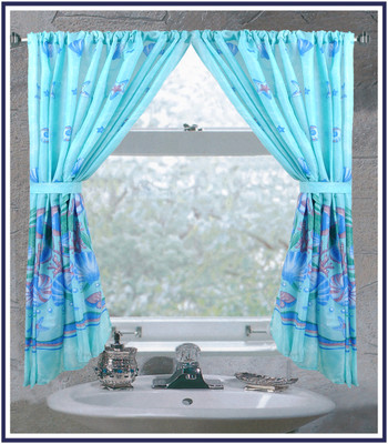 Oceanic - Fabric Window Curtain