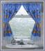 Sealife Tropical Sea - Fabric Window Curtain
