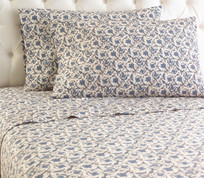 Micro Flannel Sheet Set - Jacobean