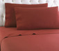 Micro Flannel Solid Sheet Set - Brick from Shavel