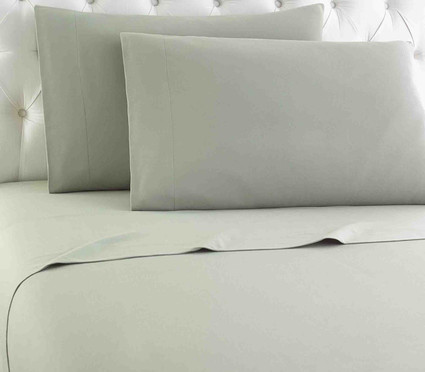Micro Flannel Solid Sheet Set - Meadow from Shavel