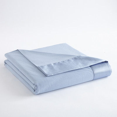 Micro Flannel Blanket - Wedgewood from Shavel