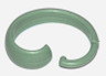 Hang Ease Plastic Shower Hooks (set of 12) - Sage