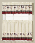 French Country Kitchen Curtain from Saturday Knight