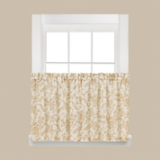 "Melissa floral kitchen curtain 36"" tier from Saturday Knight"