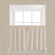 """Hopscotch kitchen curtain 24"""" tier from Saturday Knight"""
