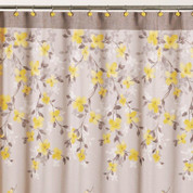 Spring Garden - Fabric Shower Curtain from Saturday Knight