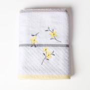 Spring Garden - Embroidered Bath Towel