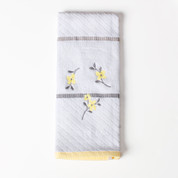 Spring Garden - Embroidered Hand Towel