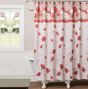 Poppy Field Shower Curtain from Saturday Knight