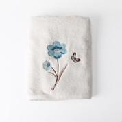 Blue Note Bath Towel from Saturday Knight