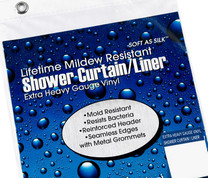 Extra Heavy Weight Extra-Long size Vinyl Shower Curtain Liner