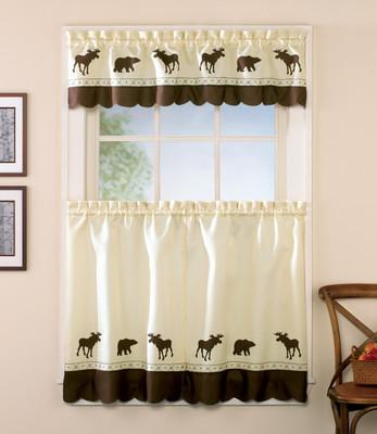 Forest Kitchen Curtain