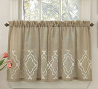 "Carlyle Kitchen Curtain - 36"" tier  from Lorraine Home"