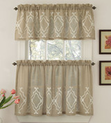 Carlyle Kitchen Curtain from Lorraine Home
